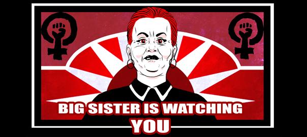 Honey Badger Radio: Big Sister Is Watching You