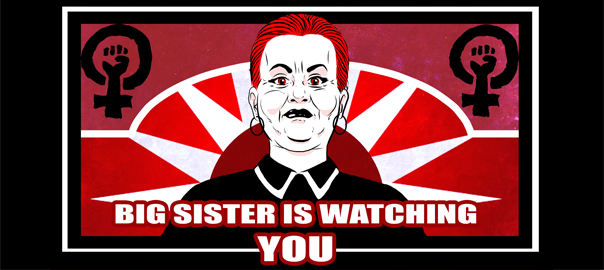 Image result for The Big Sister Is Watching You!