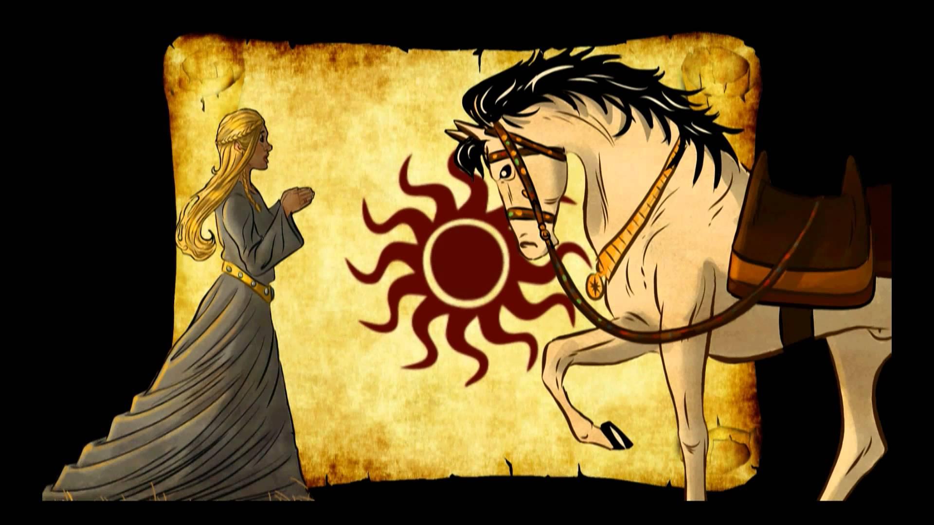 La princesa y el caballo de tiro